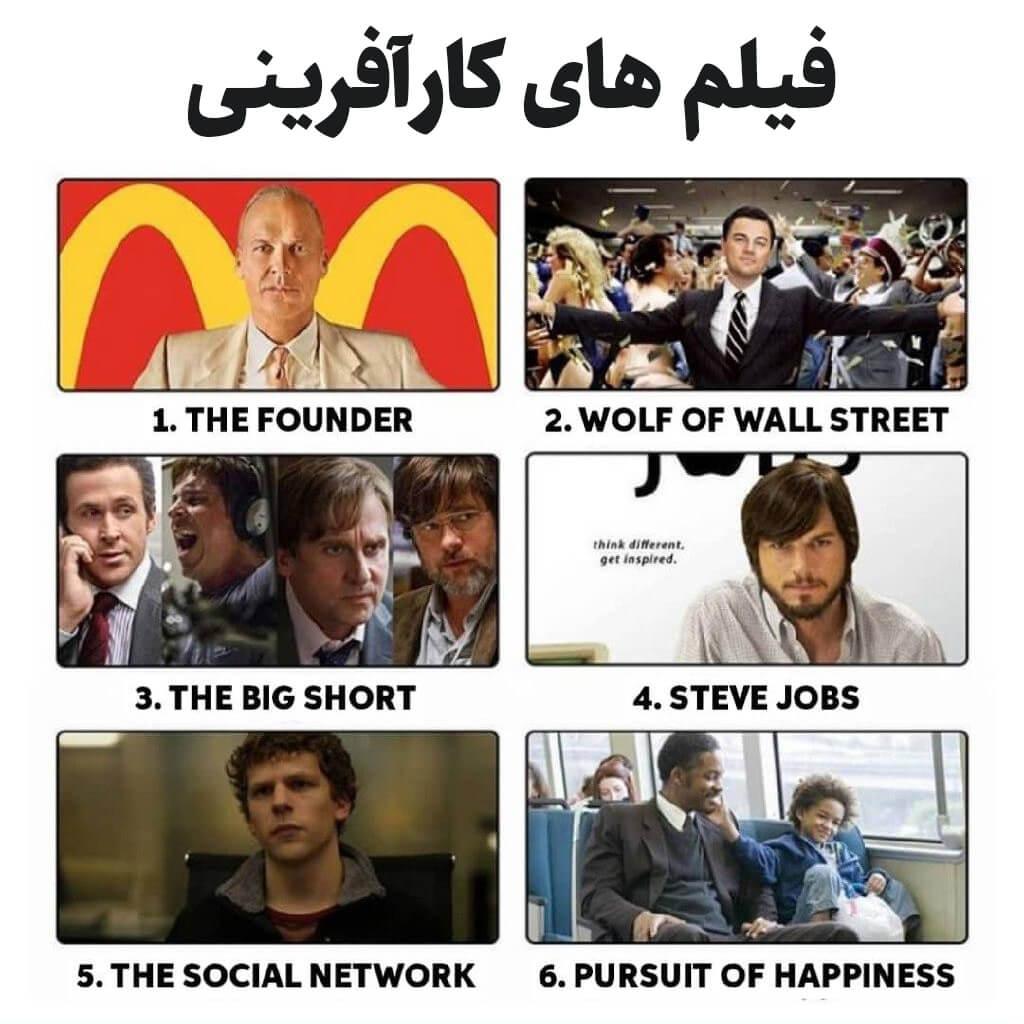 فیلم های کارآفرینی