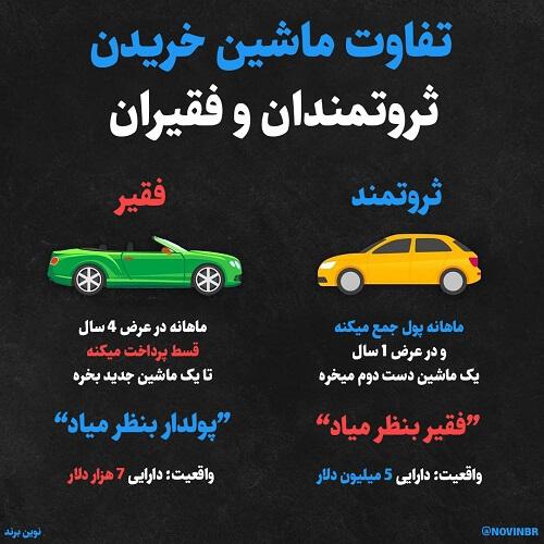 تفاوت ثروتمند واقعی و ظاهری