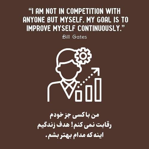 با خودت رقابت کن