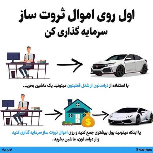 روی اموال ثروت ساز سرمایه گذاری کن