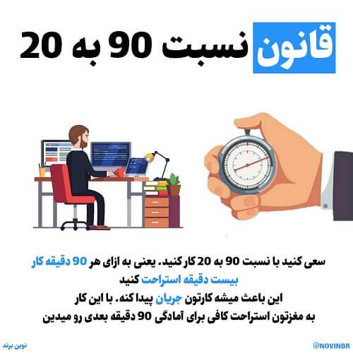قانون 90 به 20