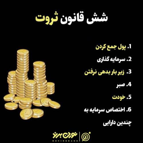 شش قانون ثروت