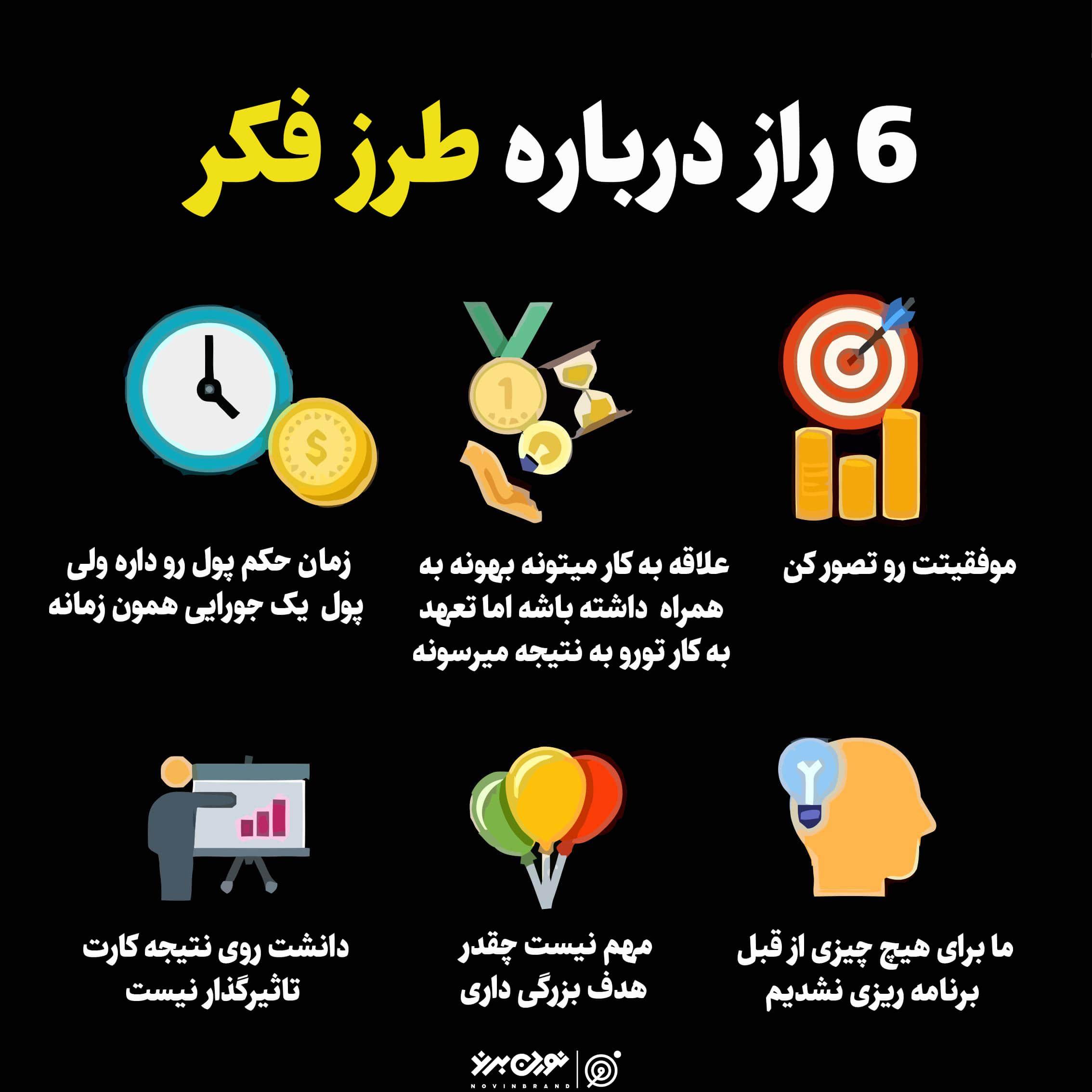 6 راز درباره طرز فکر