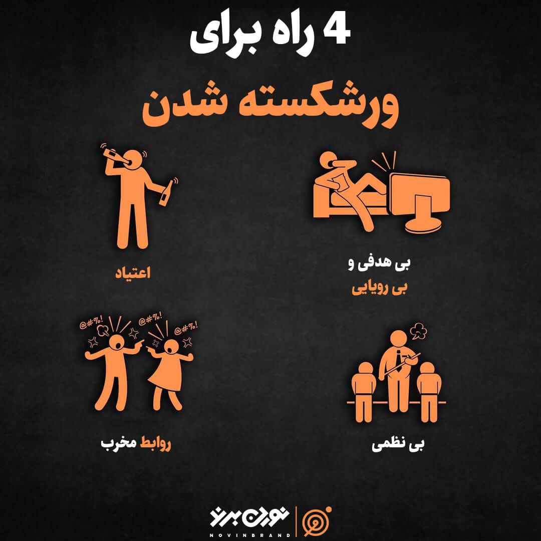 4 راه برای ورشکسته شدن