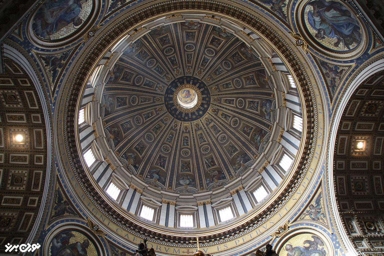 سقف باسیلیکای سان فرانچسکو دوسیسی
