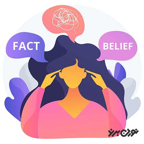 نحوهی تغییر باورها در جهت تغییر هویت اصلی و پایبند ماندن بر اهداف